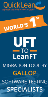 QuickLean Migration tool from HP UFT to LeanFT