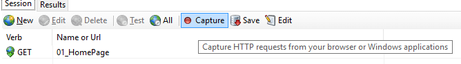 Capture Button