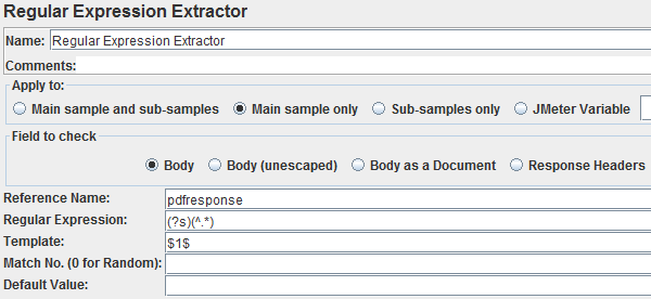Regular Expression Extractor