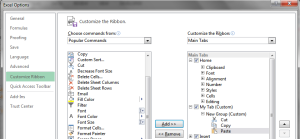 Microsoft Excel 2013 Features Excel Options