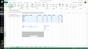 Microsoft Excel 2013 Features Recommended Charts and Pivot Table