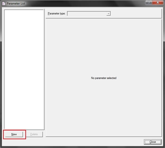 Compatibility Testing using HP LoadRunner - Create Parameter - QAInsights