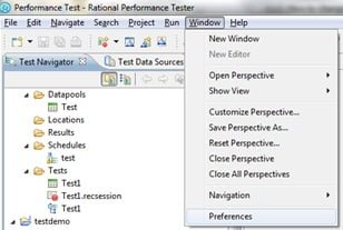 How to change percentile value in IBM Rational Performance Tester - QAInsights