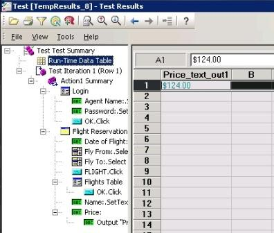 How to insert Output values in QTP - Results - QAInsights