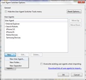 Role of User Agent in Software Testing User Agent Switcher in Mozilla Firefox - QAInsights