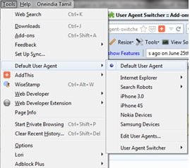Role of User Agent in Software Testing Mozilla Add-on - QAInsights