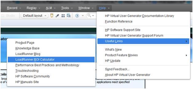 HP LoadRunner Software Business Value ROI Calculator - QAInsights