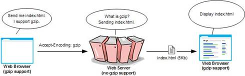 Without gzip