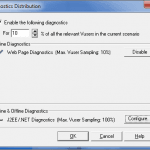 Diagnostics for J2EE and .NET