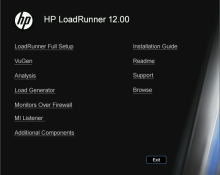 HP LoadRunner 12 and HP Performance Center 12