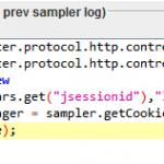 JMeter Cookie BeanShell Preprocessor