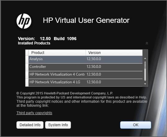 HP LoadRunner 12.50