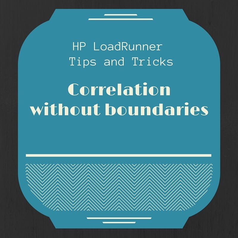 How to correlate in HP LoadRunner if there are no boundaries
