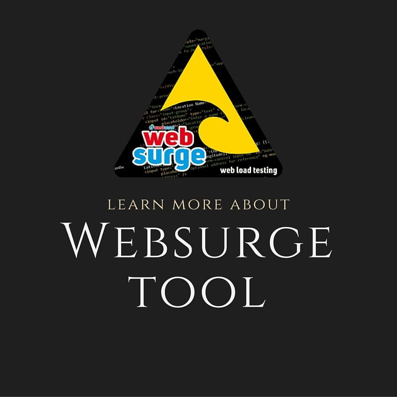 WebSurge Performance Testing Tool