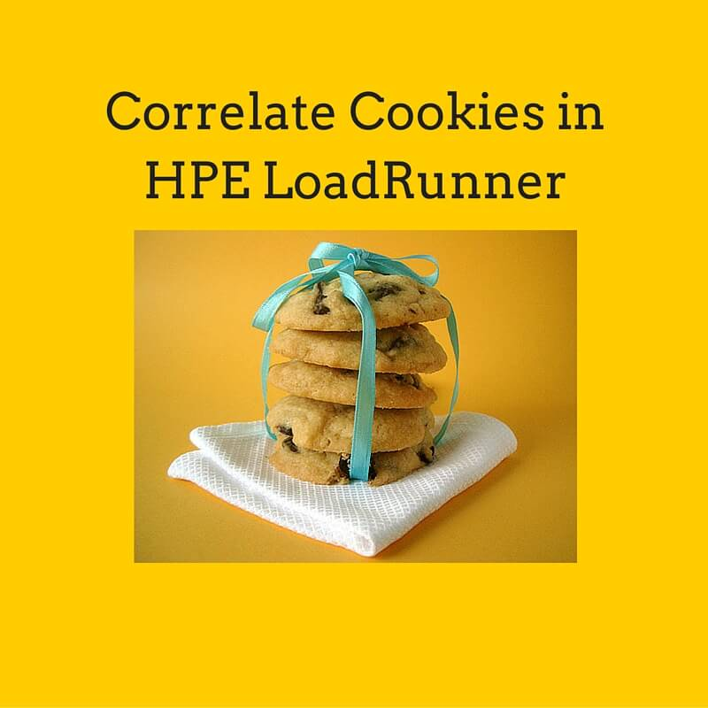 Correlate Cookies in HPE LoadRunner