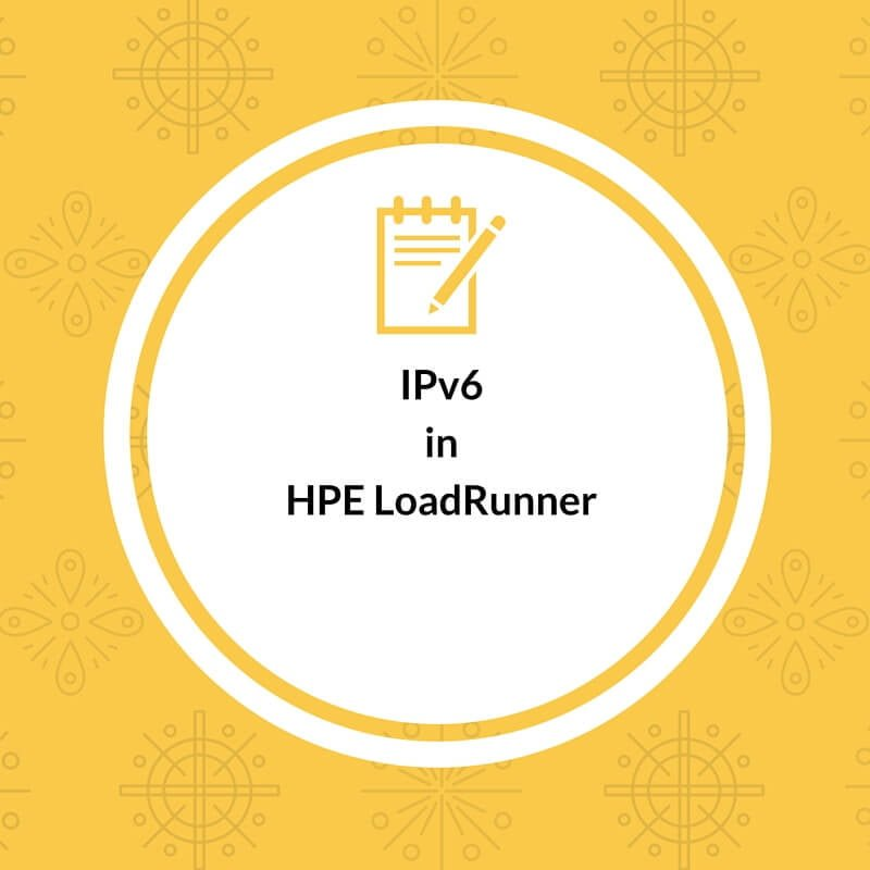 IPv6 Support in LoadRunner