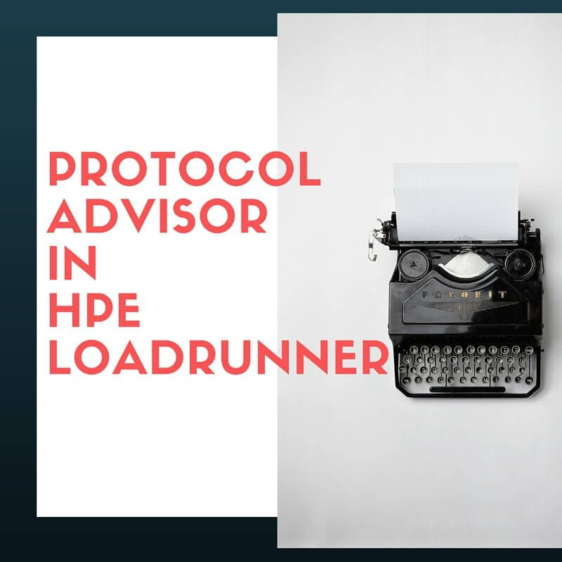 Protocol Advisor in LoadRunner