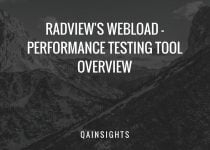 WebLOAD - Performance Testing Tool Overview