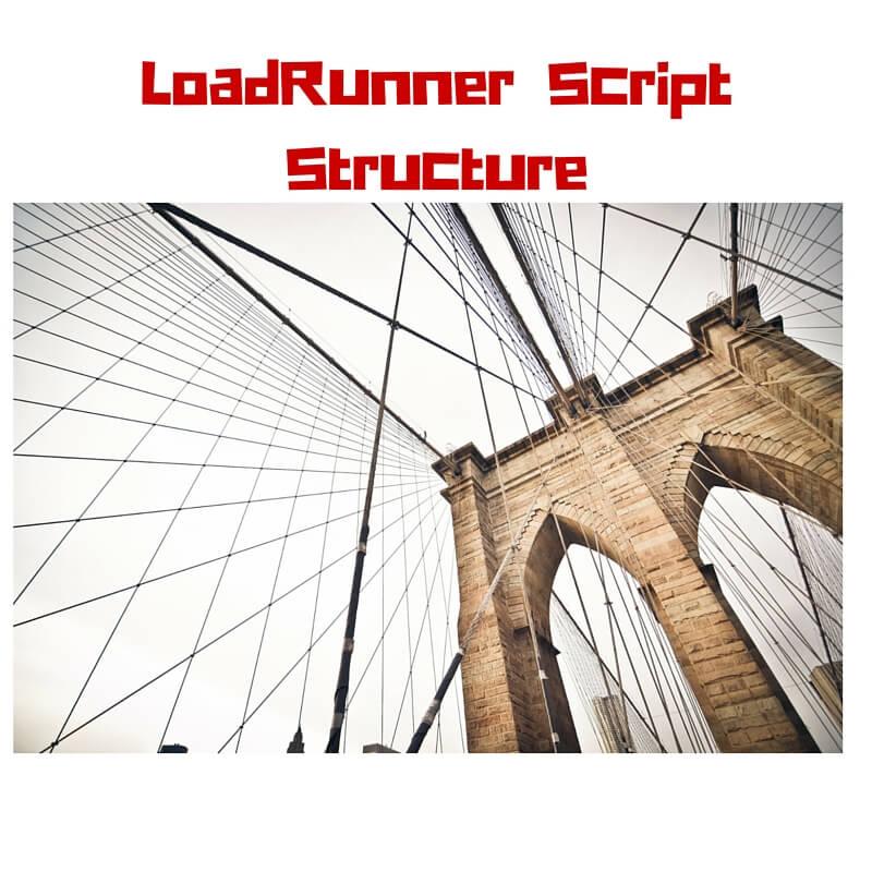 LoadRunner Script Structure