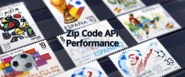 Analyzing the performance of Zip Code API