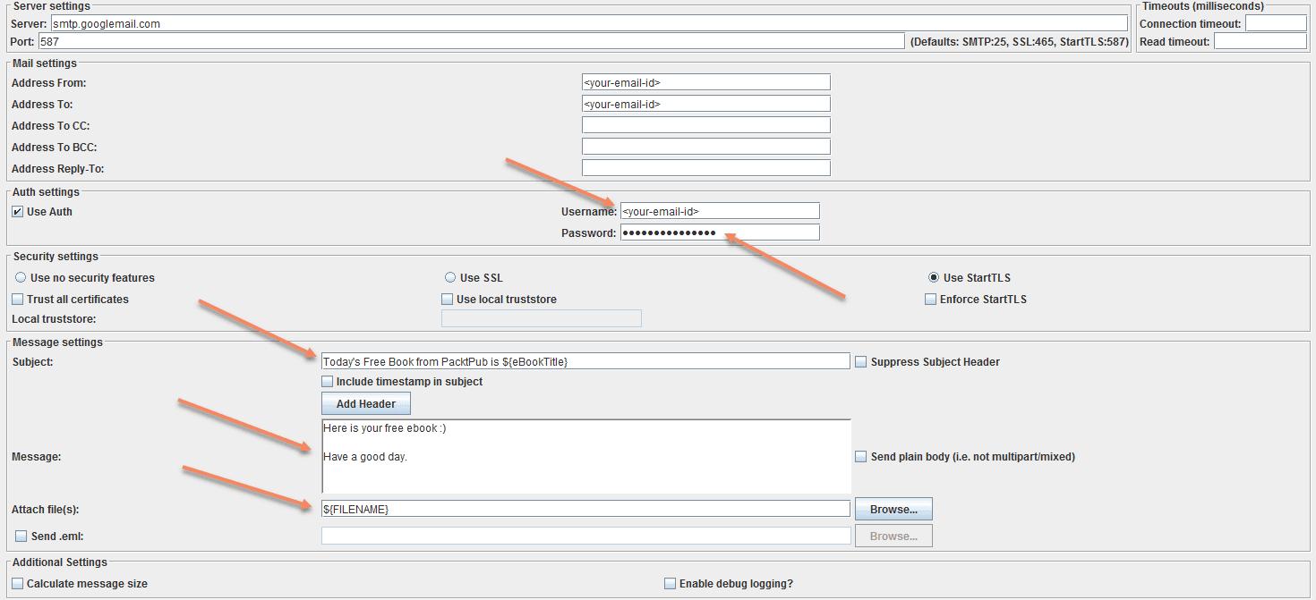 Download Free Ebooks using Apache JMeter