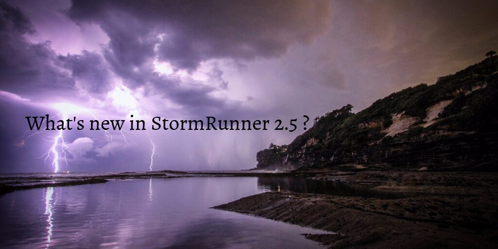 What's new in StormRunner 2.5?