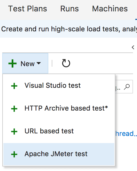 Types of Tests in VSTS