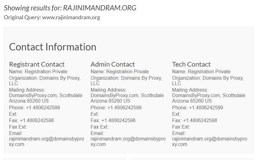 Performance Analysis of Rajini Makkal Mandram Website