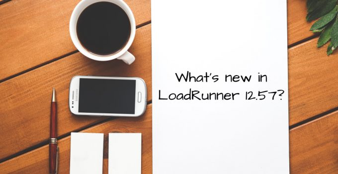 What's new in LoadRunner 12.57?
