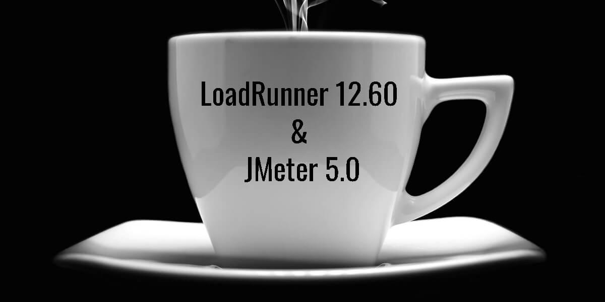LoadRunner 12.60 and JMeter 5.0