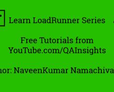 Learn LoadRunner Series – #2 - Recording Options in LoadRunner