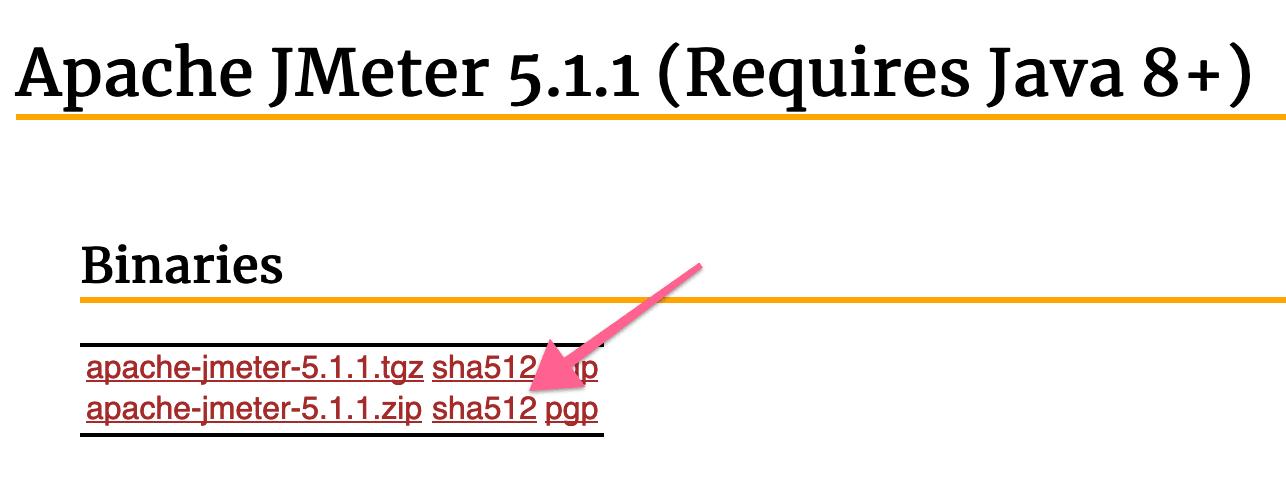 File Integrity of Apache JMeter